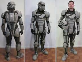 mass effect 3 n7 armor template n7 armor test fit iii by hsholderiii on deviantart