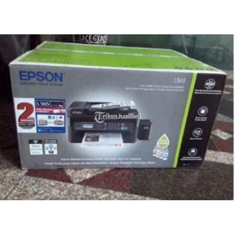 Printer Epson Murah Surabaya printer epson l565 all in one multifungsi kondisi baru