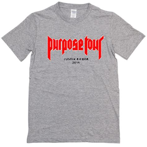 Purpose Tour 2016 jb purpose tour 2016 t shirt