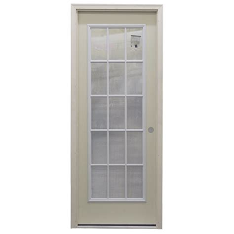 32 Quot 15 Lite Exterior Steel Door Unit Bargain Outlet 15 Lite Exterior Door