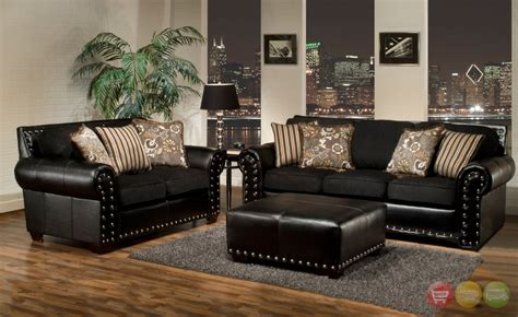 black couches living rooms amusing black living room furniture sets for home black