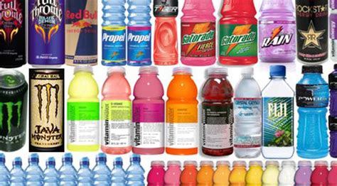 energy drink types list of different sport drinks blood glucose diary