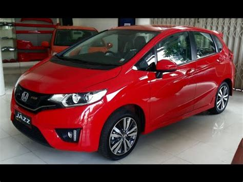 all new honda jazz rs 2015 2016 review exterior and interior