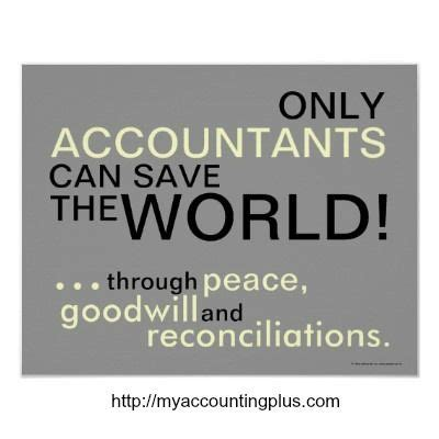 Can You Become A Cpa With Only An Mba by Only Accountants Can Save The World Through Peace