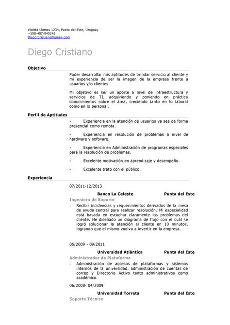 Plantilla Curriculum Tecnico De Sonido Plantilla Demo De Cv Para Soporte O Servicio Tecnico Al Cliente Curr 237 Culum Entrevista Trabajo