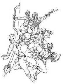 power rangers coloring pages getcoloringpages