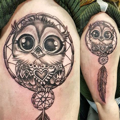 nocturnal tattoo 50 of the most beautiful owl designs and their