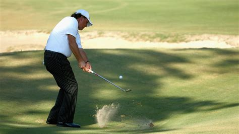 golf spelled backwards did phil mickelson have an affair phil mickelson practicing more backwards wedge shots at
