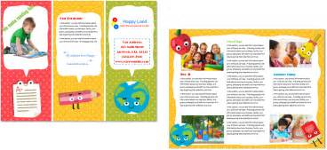 Preschool Brochure Template by Child Care Brochure Template 22 Child Care Owner