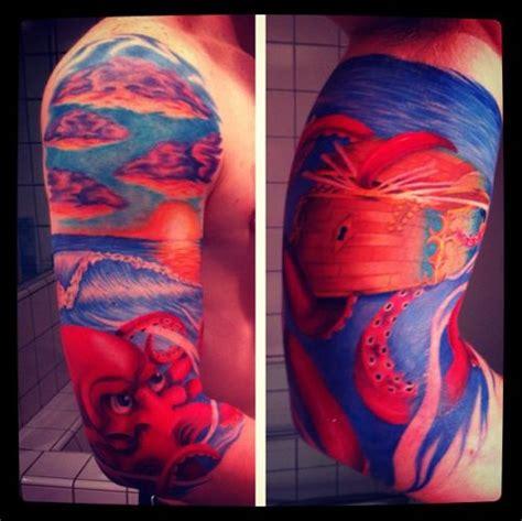 ocean themed tattoo sleeve 17 best ideas about sleeve tattoos on