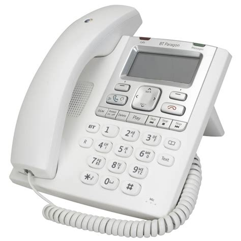 Bt Email Help Desk by Bt Paragon 550 Business Telephone With Answering Machine