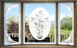 decorative window decals for home vinyl etchings decorative decals the look of real etched