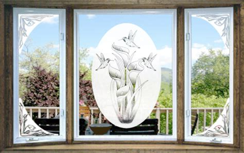 Etchings On Vinyl - vinyl etchings decorative decals the look of real etched