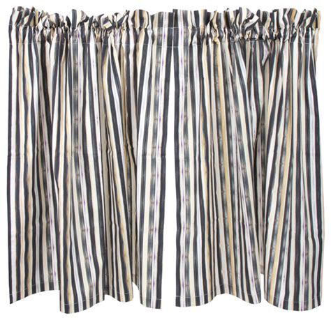 mackenzie childs curtains courtly stripe caf 233 curtains mackenzie childs eclectic