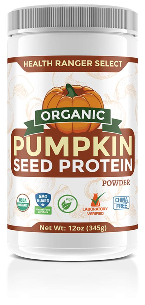 Organic Pumpkinseed try health ranger select organic pumpkin seed protein