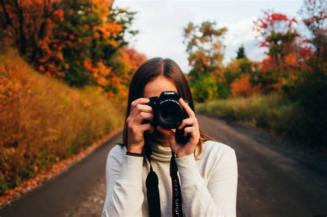photo taking themes girl taking picture with camera latest profile dp for