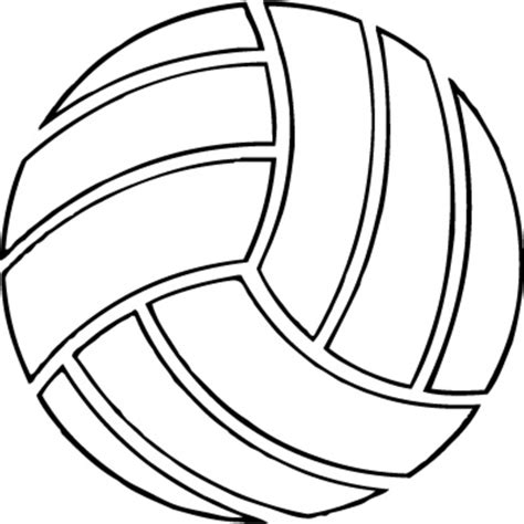 volleyball outline printable volleyball free images at clker com vector clip art
