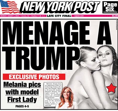 Another Photo Shoot In Ny by Melania S On Photos From Racy Shoot Revealed