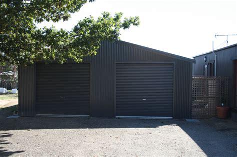 Cost To Enclose A Garage by Enclosed Garage Customise Size Design Fair Dinkum Sheds
