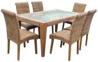 Wicker Dining Table And Chairs Dining Table Rattan Dining Table And Chairs