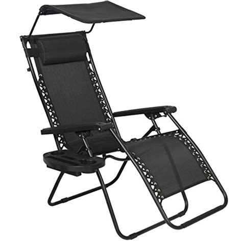 best chair with shade best choice products zero gravity canopy shade lounge
