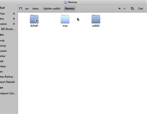 lightdm themes html cara instal tema lightdm wattos mac os x style mumulala