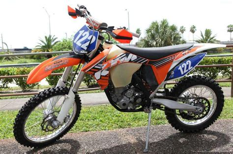 Ktm 350 Dirt Bike 2012 Ktm 350 Xc F Dirt Bike For Sale On 2040motos