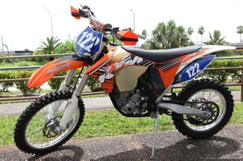 Ktm 350 Xc F For Sale 2012 Ktm 350 Xc F Dirt Bike For Sale On 2040motos