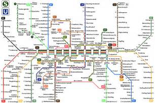 Munich Metro Map by Int L Subway Maps Trains Transportation Mega Net