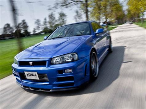 nissan skyline r34 paul walker nissan skyline gt r r34 de paul walker autocosmos com