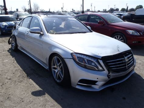 Salvage Mercedes For Sale Salvage 2014 Mercedes S550 For Sale In Ca Los