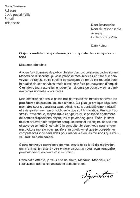 Lettre De Motivation Concours Banque Lettre De Motivation Convoyeur De Fond Mod 232 Le De Lettre
