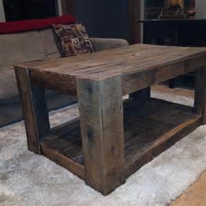 Rustic Pallet Coffee Table Diy Highly Rustic Pallet Coffee Table 101 Pallets
