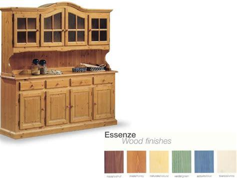 credenze rustiche legno credenza in legno massello per soggiorno rustico idfdesign
