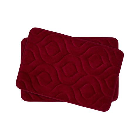 17x24 Bath Mat Bouncecomfort Naoli Barn 17 In X 24 In Memory Foam 2 Bath Mat Set Ymb002383 The