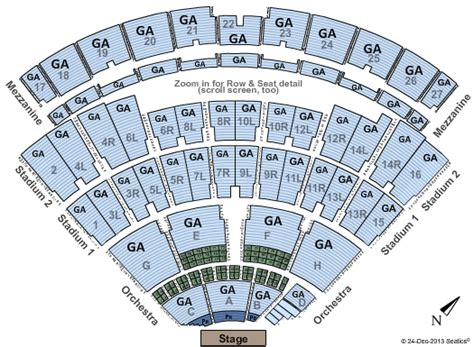 nikon theatre seating chart vans warped tour nikon at jones theater tickets