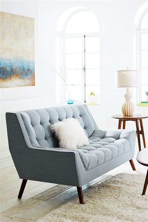 small scale loveseat 1000 ideas about blue loveseat on pinterest leather