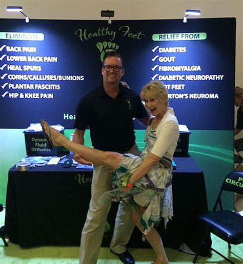 dee wallace shows    healthy feet solutions