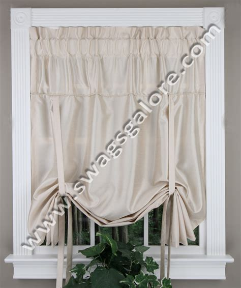 tie up shades curtains tie up curtains for kitchen myideasbedroom com