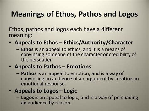 How To Use Ethos Pathos And Logos In An Essay by Ethos Logos Pathos The 3 Modes Of Persuasion Pdf