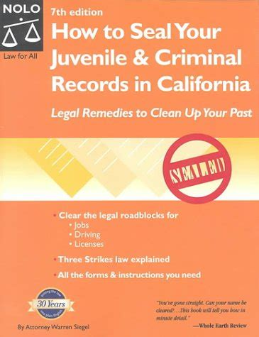 How To Clear Your Criminal Record How To Seal Your Juvenile Criminal Records In California