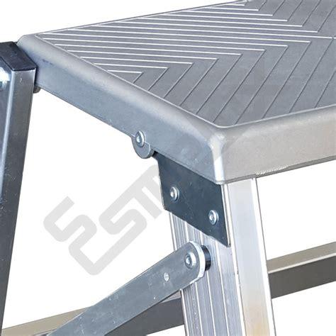 taburete escalera escalera taburete en aluminio