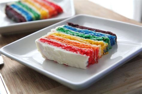 easy rainbow cake recipe from scratch divas can cook