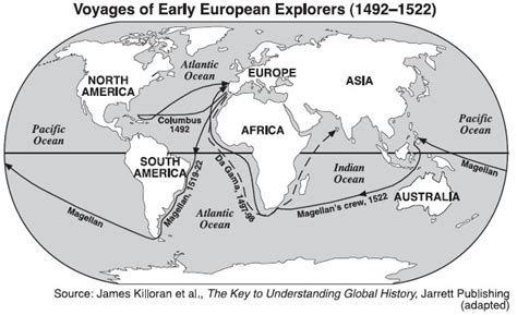 american explorers map worldhistoryatyhs age of exploration