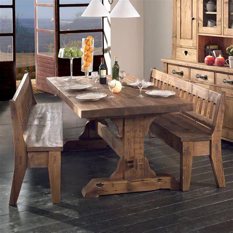 table cuisine bois massif table brocante vieux bois en pin massif photo 2 20 style authentique a d 233 couvrir chez