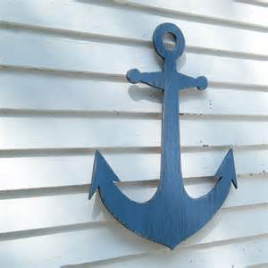 Anchor Wall Decor by Anchor Wall Decor Wooden Anchor Coastal Decor