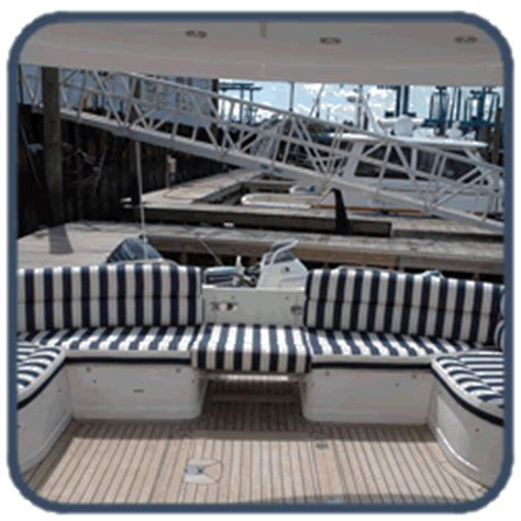 Upholstery In Ny by Seafarer Canvas For Custom Boat Canvas Interiors And