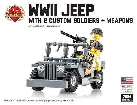 brickmania jeep brickmania wwii jeep megaton bundle 110 00 http