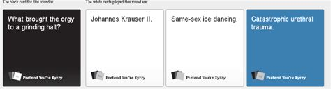 Custom Cards Against Humanity Template by Bwaaah Cards Against Humanity Your Meme