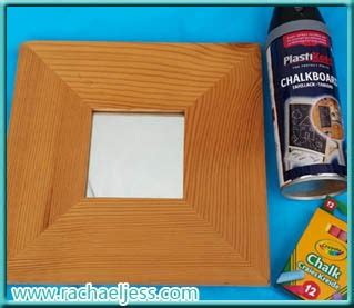 chalk paint malmö craft how i made my chalkboard mirror a diy and